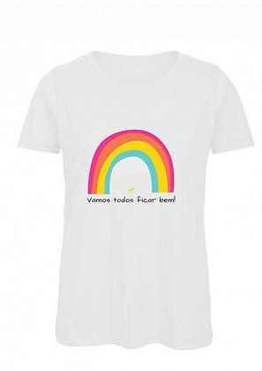 T-shirt - Vamos todos ficar bem - White