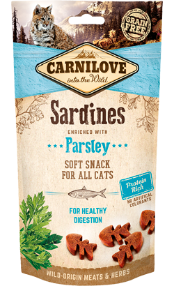 Carnilove Cat Soft Snack Sardines & Parsley 50 g