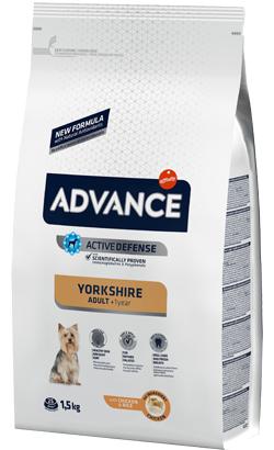Advance Dog Yorkshire Adult Chicken & Rice 1,5 Kg