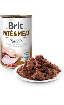 Brit Care Dog Paté & Meat Rabbit - Wet (Lata) - 6 x 400 g