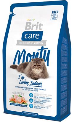 Brit Care Cat Monty Indoor High Chicken 2 kg
