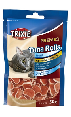 Trixie Cat Snack Prémio Tuna Rolls 50 g