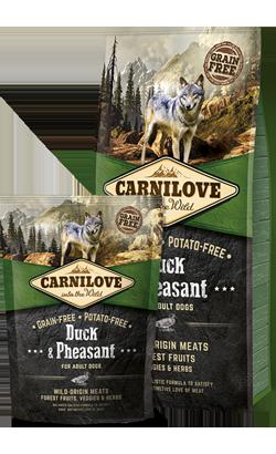 Carnilove Duck & Pheasant Adult Dog 1,5 kg