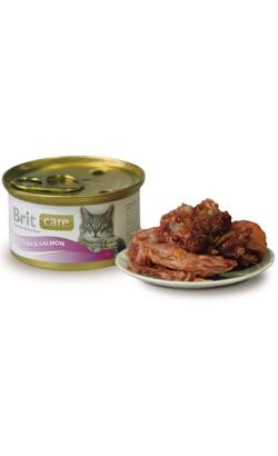 Brit Care Cat Wet - Tuna & Salmon - 6 x 80 g