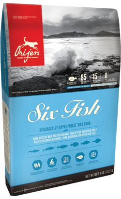 Orijen Six Fish Dog 6 kg
