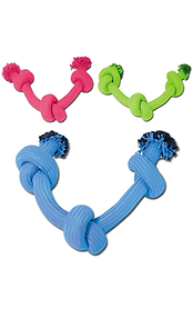 Nayeco Maxi Braided Cotton Rope 3 Knots - Cores Sortidas | 1 Unidade