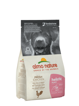 Almo Nature Dog Dry Holistic Puppy Small Fresh Chicken 2 kg