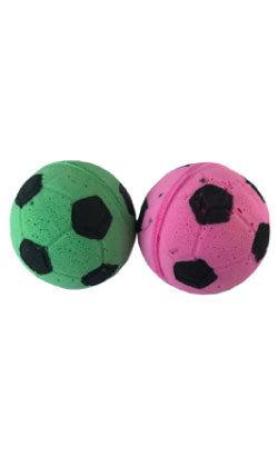 Eurosiam Conjunto de 2 Bolas em Esponja - Football