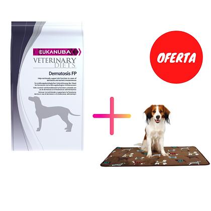 Eukanuba Dog Vet Diets Dermatosis FP 12 Kg + Oferta de 1 x Trixie Colchão