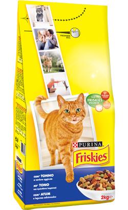 Friskies Gato Adulto Atum e Legumes 400 g