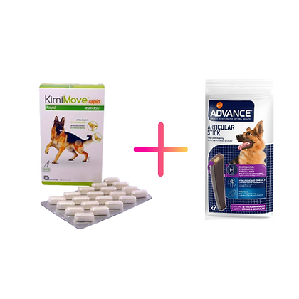 KimiMove Rapid + Advance Dog Articular Care Stick