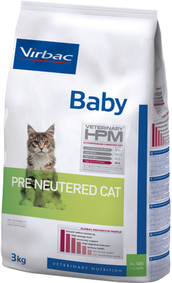 Virbac HPM Baby Pre Neutered Cat 3 kg