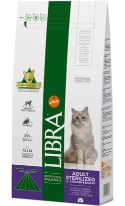 Libra Gato Sterilized Frango 3 Kg