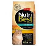 Picart Nutribest Cat Adult Sterilised Salmon & Rice 8 kg
