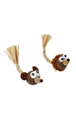 Eurosiam Brinquedo com Catnip Hedgehog / Mouse in cork - 1 Unidade