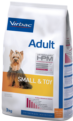Virbac HPM Adult Dog Small & Toy 1,5 kg
