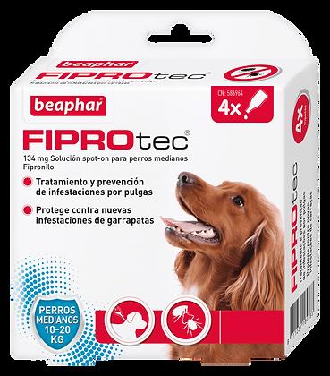 Beaphar Fiprotec Spot On Cão Médio 10-20 kg - 4 Pipetas