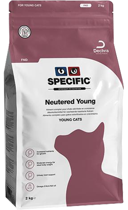 Specific Cat FND Neutered Young 2 kg