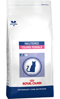 Royal Canin Vet Care Nutrition Feline Neutered Young Female 1,5 Kg