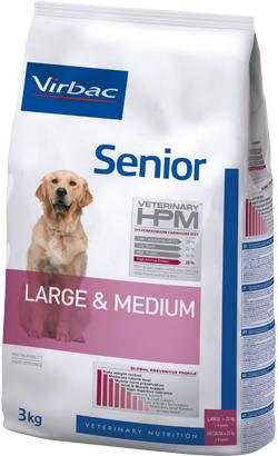 Virbac HPM Senior Dog Large & Medium 12 kg