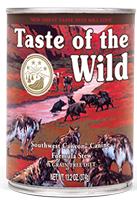 Taste of the Wild Southwest Canyon Canine Formula - Lata - 12 x 390 g