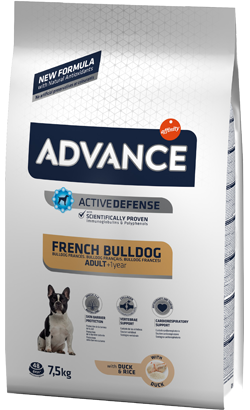 Advance Dog Adult French Bulldog 7,5 kg