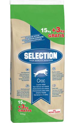 Royal Canin Selection Croc Adult - Bónus - 15 kg + 3 kg Oferta