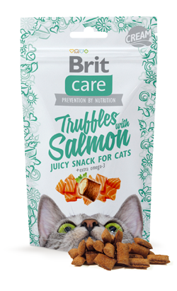 Brit Care Cat Snack Truffles with Salmon 50 g