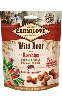 Carnilove Dog Crunchy Snack Wild Boar & Rosehips 200 g