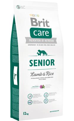 Brit Care Dog Senior Lamb & Rice 12 kg