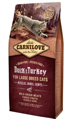 Carnilove Cat Adult Large Breed Duck & Turkey 400 g