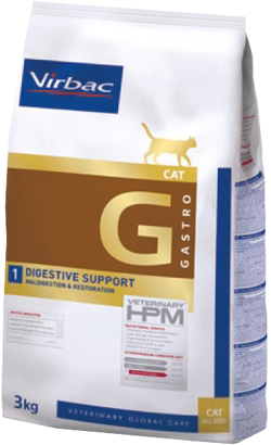 Virbac Veterinary HPM G1 Cat Digestive Support 3 kg
