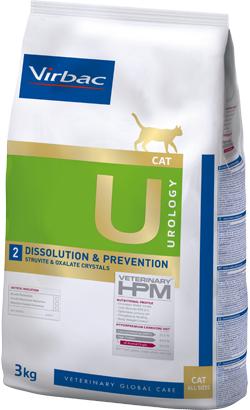 Virbac Veterinary HPM U2 Cat Dissolution & Prevention 3 kg