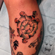 Did this _sailorjerry Leatherback and Fe
