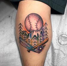 I got to tattoo the man, the myth, the l