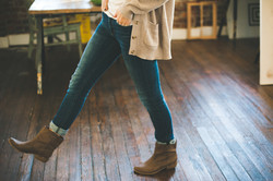 Jeans et bottes