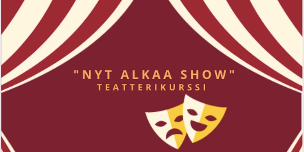 Nyt alkaa show! -teatterikurssi 7-12v 🎭