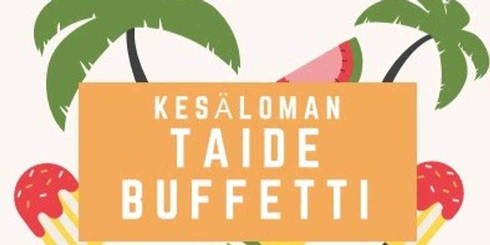 Taidebuffet -kesälomakurssi 7-11v 🎨