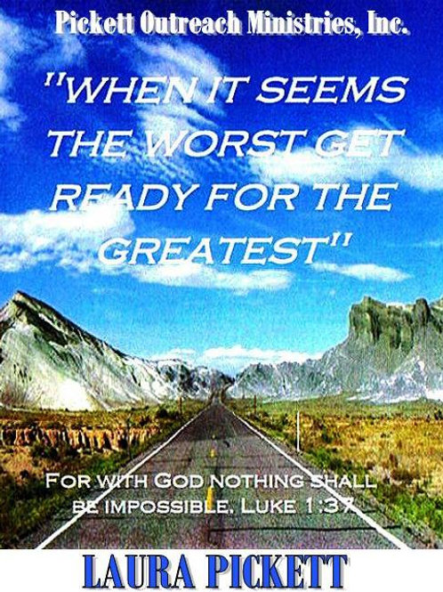 When It Seems the Worst, Get Ready for the Greatest (2CD)
