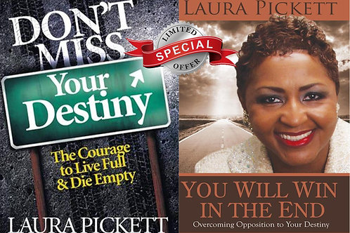(2) Book You Will Win... & Don't Miss Your Destiny