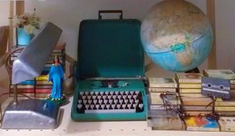 objetos vintage de decoração