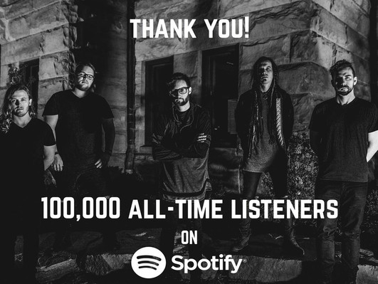 100,000 All-Time Listeners