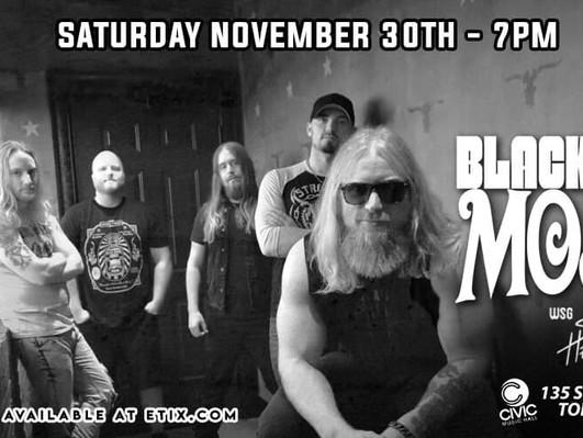 SHOW: 11/30 in Toledo w/ Blacktop Mojo