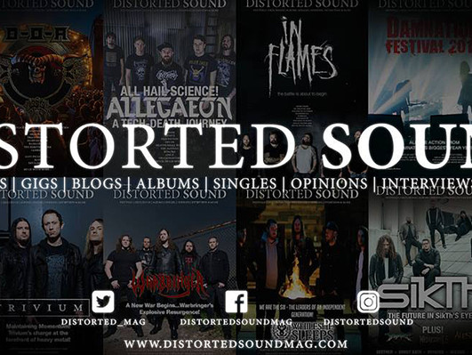 Distorted Sound Magazine Article