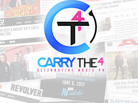 We are Now Working with Carry The 4 PR!