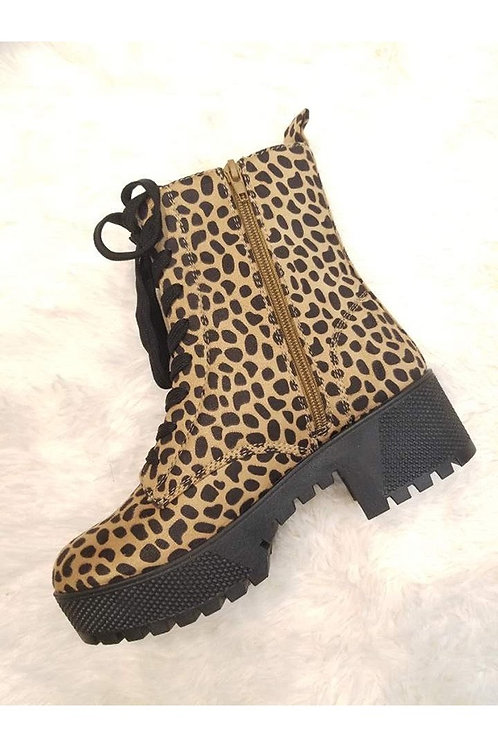 Leopard Boots