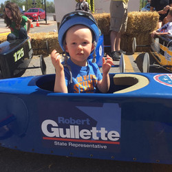 Gullette For State Rep Coaster Car