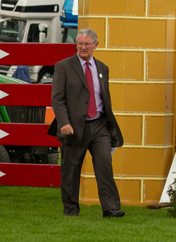 Jon Doney MBE, The All England Jumping Course at Hickstead