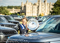 Pippa Funnell wins The Landrover Burghle