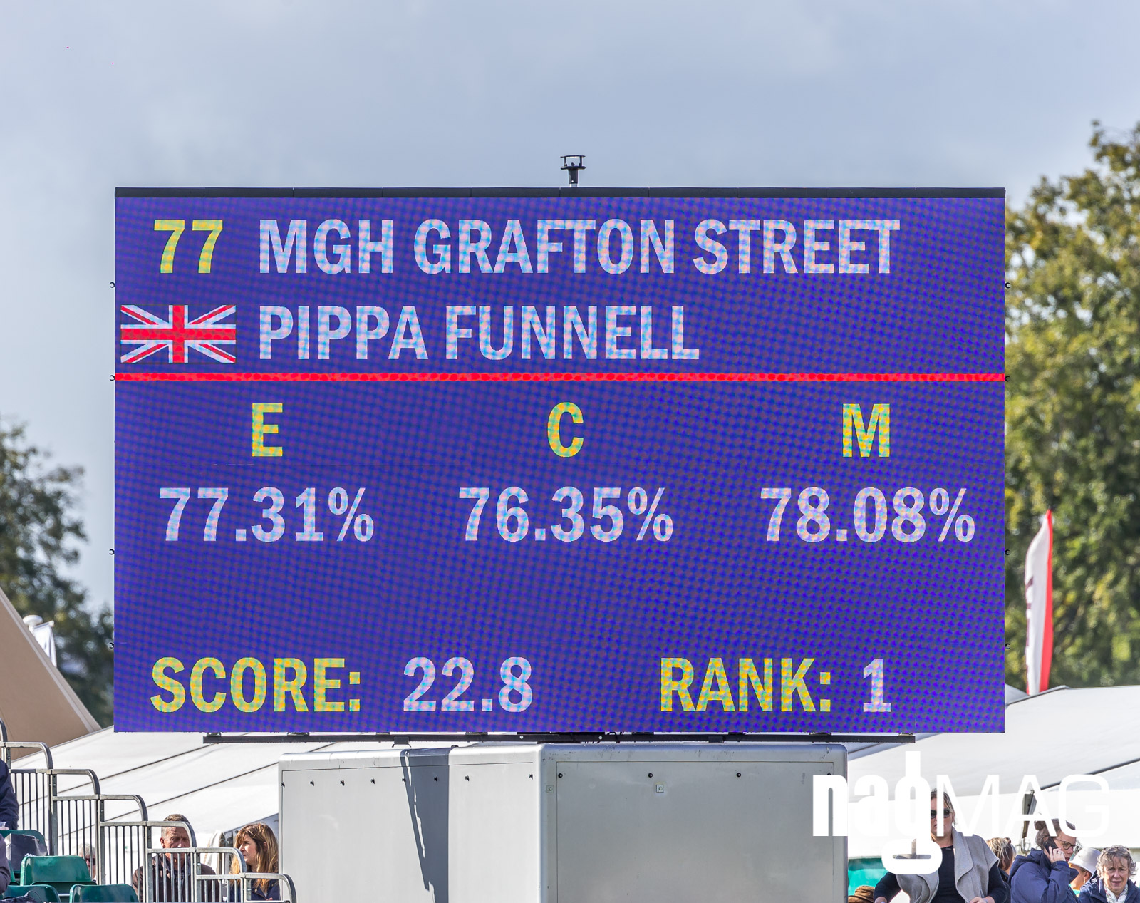 Pippa Funnell on MGH GRAFTON STREET